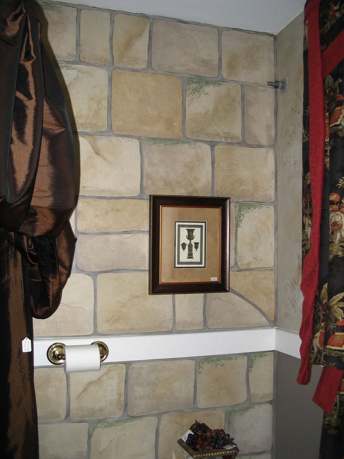 Faux painting bathroom - Faux Painting Bathroom 6